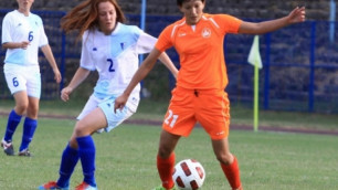 Чемпионат Казахстана по женскому футболу стартует 12 апреля