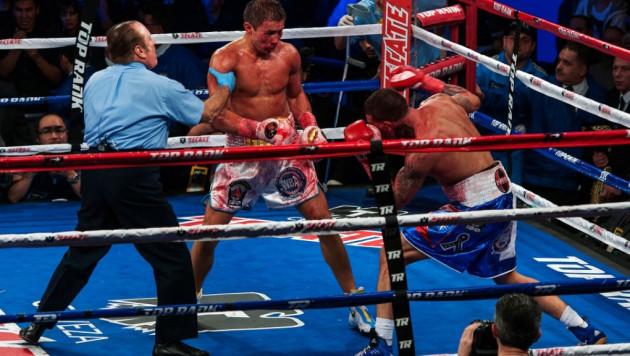 Геннадий Головкин отстоял титул чемпиона мира WBA