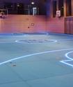 Умные полы для спортивной арены