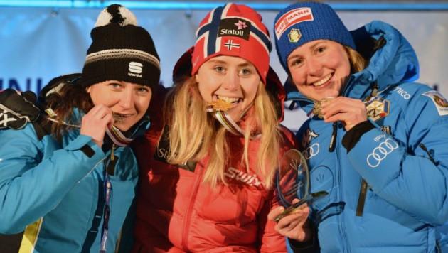 Казахстанская лыжница выиграла серебро на молодежном чемпионате мира