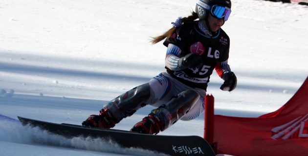 Валерия Цой стала 25-й на чемпионате мира по сноуборду