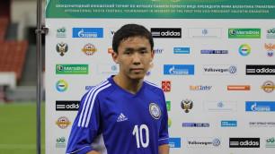 Алишер Сулей: По таланту казахстанские футболисты не уступают украинским сверстникам