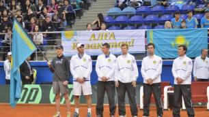 Казахстан поднялся на седьмое место в рейтинге Кубка Дэвиса