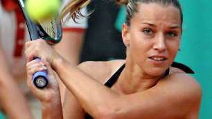 Доминика Цибулкова снялась с матча из-за судорог