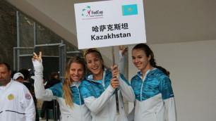 Сборная Казахстана по теннису в переходном матче сыграет с Францией