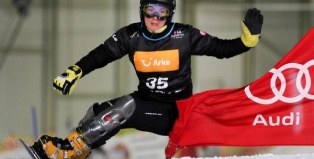 Выступление Цой на Кубке мира по сноуборду в Сочи назвали сенсацией