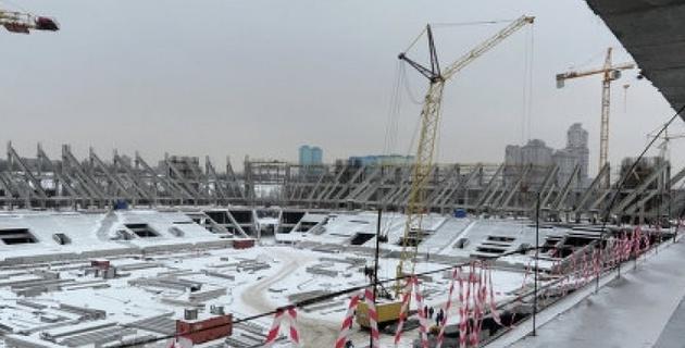 """Домашний стадион """"Спартака"""" получил название """"Открытие Арена"""""""