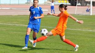 Суперкубок Казахстана разыграют и женские команды по футболу