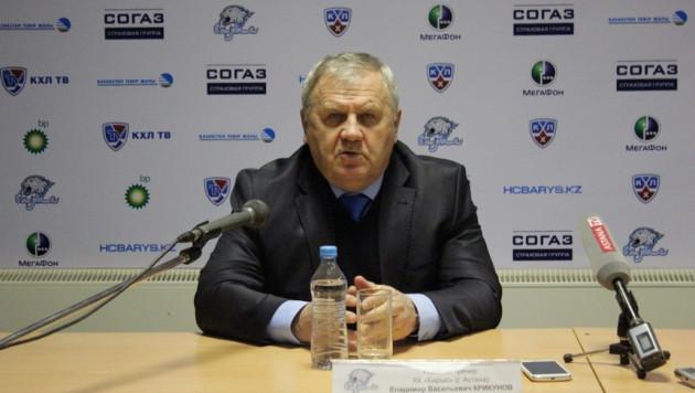 Владимир Крикунов: Мы вытащили тяжелейший матч