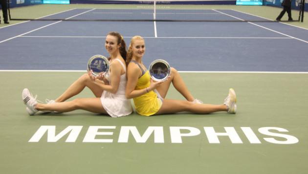 Галина Воскобоева выиграла турнир WTA в Мемфисе в парном разряде