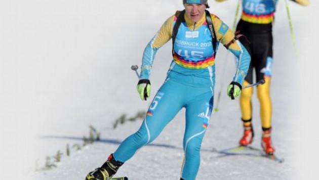 Лучший результат из казахстанских биатлонисток в Сочи показала Вишневская