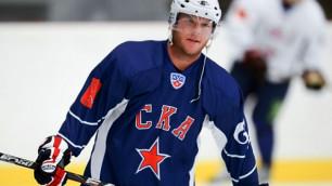 Даллмэн отдал три результативные передачи за СКА в четвертьфинале Кубка Гагарина