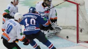Даллмэн поучаствовал во второй победе СКА в 1/4 финала Кубка Гагарина