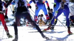 Казахстанские биатлонистки - 12-е в эстафетной гонке в Сочи