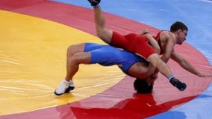 Определились первые призеры чемпионата Казахстана по борьбе