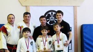 Казахстанская детская команда завоевала три медали на российском татами