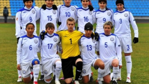 Женская сборная Казахстана сохранила 65-е место в рейтинге ФИФА