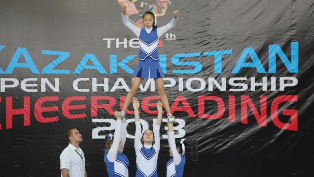 Итоги чемпионата Казахстана по черлидингу