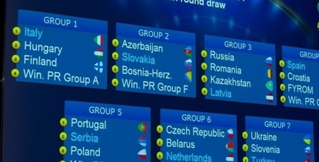 Чемпионат Европы по футзалу 2013. Группа 3.