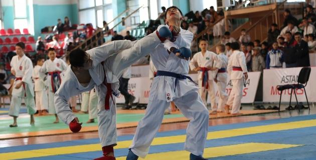 В чемпионате страны по карате приняли участие 620 спортсменов