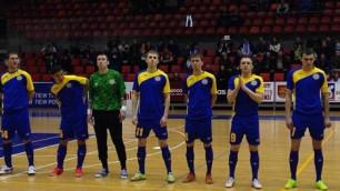 Россия разгромила Казахстан на старте отборочного этапа ЧЕ по футзалу