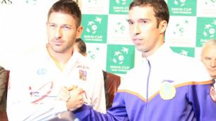 Стали известны участники противостояния Кубка Дэвиса в Астане