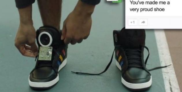 Говорящие кроссовки
