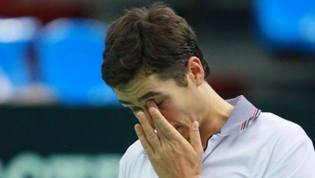 Британцы сократили отставание от россиян в матче Кубка Дэвиса