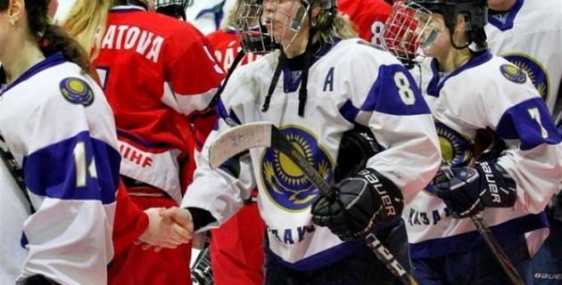 Женская сборная Казахстана победила Северную Корею на ЧМ по хоккею с шайбой