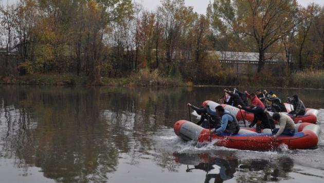 Открытие алматинской школы рафтинга