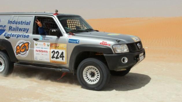 Казахстанский экипаж стал победителем гонки в Абу-Даби в классе Т2 (+фото)