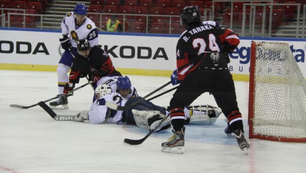 Сборная Казахстана по хоккею стартовала на ЧМ с победы над Японией (+ видео)