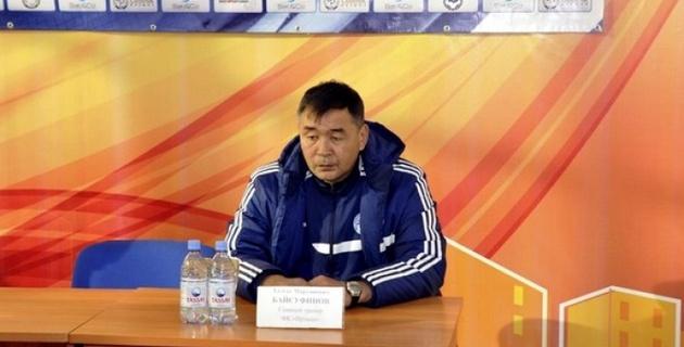 Талгат Байсуфинов: Игрокам никаких претензий нет