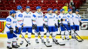 Сборная Италии одержала вторую победу на чемпионате мира