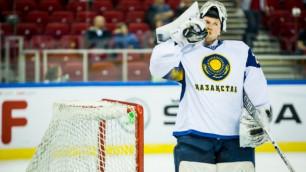Сборная Казахстана по хоккею сохранила первое место по итогам второго дня ЧМ