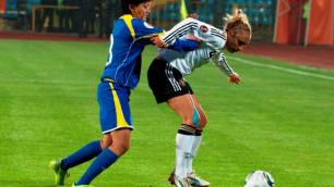 Казахстан попал в седьмую группу ЧМ-2015 по женскому футболу