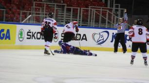 Травмированный корейский хоккеист пришел в сознание