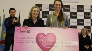 Галине Воскобоевой вручили награду от Международной теннисной федерации