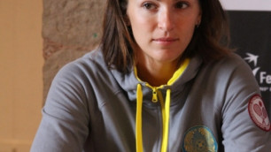 Лидер теннисной сборной Казахстана обязалась выложится на 100 процентов