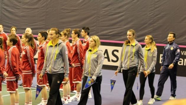 Казахстанские теннисистки сохранили позицию в рейтинге Кубка Федерации