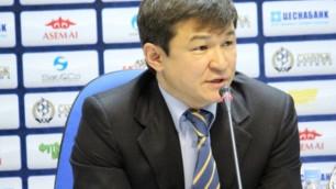 Хамитжанов был бы рад снова видеть Смакова в сборной Казахстана