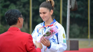 Пятиборка Арина Джиенбаланова стала девятой в Венгрии