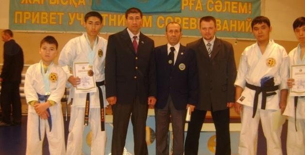В Алматы прошел первый республиканский турнир по мейбукан годзю-рю карате-до