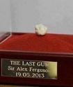 Последнюю жвачку Фергюсона продали за 600 тысяч долларов