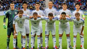 Юношеская сборная Казахстана (U-17) отправилась в Беларусь на международный турнир по футболу