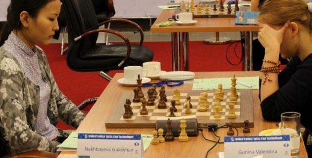 Чемпионы Казахстана по шахматам выступили на Кубке боксера Мэнни Пакьяо