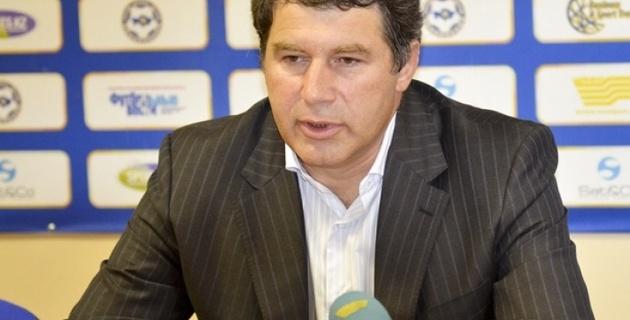 Виктор Кумыков: К БАТЭ подпишем хавбека сборной Казахстана