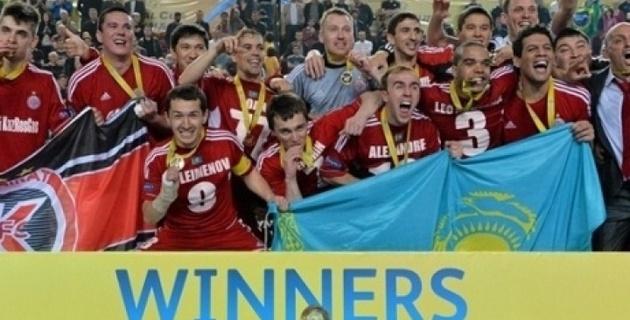 """Футзальный """"Кайрат"""" возглавил рейтинг УЕФА"""