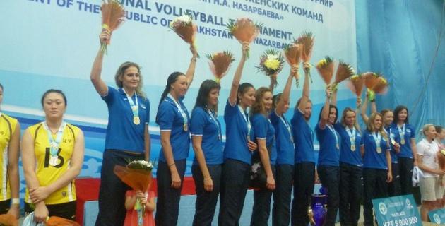 Казахстанские волейболистки выиграли Кубок Президента (+фото)