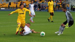 Символическая сборная 17-го тура футбольной премьер-лиги Казахстана